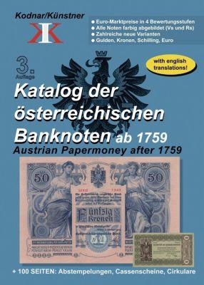 Katalog der österreichischen Banknoten ab 1759 -  pdf epub