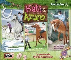 Kati & Azuro - Pferde-Box, 3 Audio-CDs, Kati & Azuro