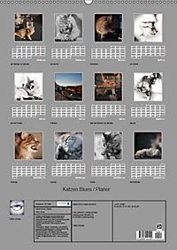 Katzen Blues / Planer (Wandkalender 2019 DIN A2 hoch) - Produktdetailbild 13