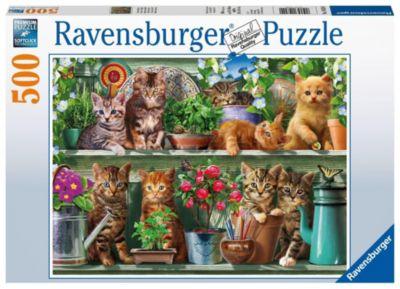 Puzzle 1.000 Teile Spiel Deutsch 2016 Schmusekatzen Puzzles & Geduldspiele