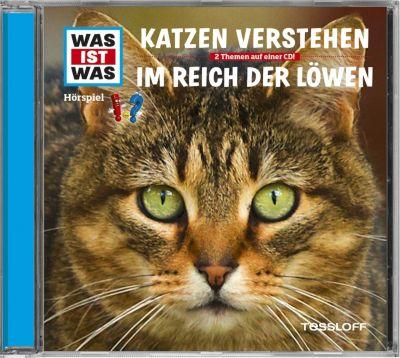 Katzen verstehen / Im Reich der Löwen, 1 Audio-CD, Manfred Baur