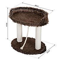 Katzenbaum mit Spielseil - Produktdetailbild 3