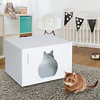 Katzenhaus mit Griff - Produktdetailbild 1