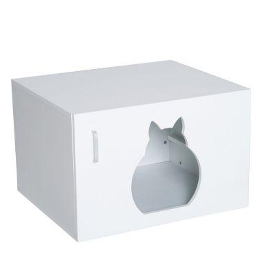 Katzenhaus mit Griff
