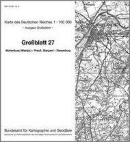 KDR 100 GB Marienburg (Westpreussen) - Preuss. Stargard - Riesenburg