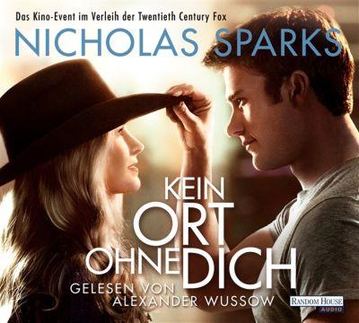 Kein Ort ohne dich, 6 Audio-CDs, Nicholas Sparks