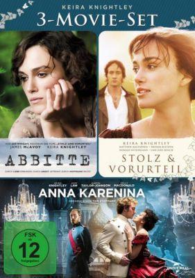 Keira Knightley - 3-Movie-Set DVD-Box, Tom Stoppard, Leo Tolstoy, Deborah Moggach, Emma Thompson, Christopher Hampton