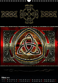 Keltische Symbole (Wandkalender 2019 DIN A3 hoch) - Produktdetailbild 3