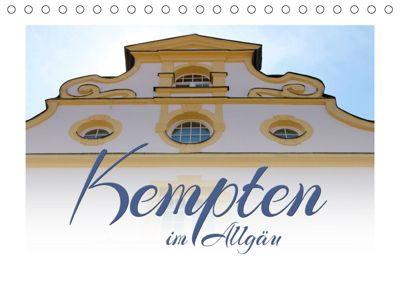 Kempten im Allgäu (Tischkalender 2019 DIN A5 quer), Maria Reichenauer