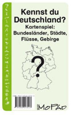 Kennst du Deutschland? (Kartenspiel) - Bernd Wehren |