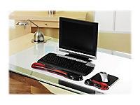 KENSINGTON Duo Gel Auflage fuer Tastatur rot schwarz - Produktdetailbild 4