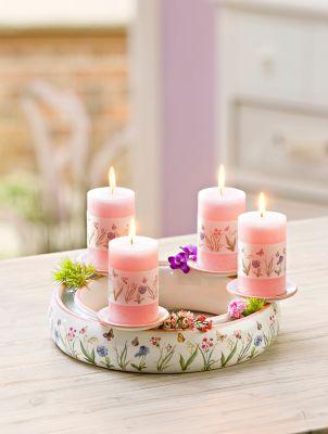 Kerzenkranz Fiori