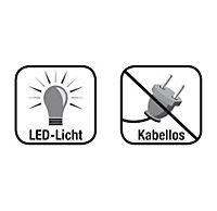 """""""Kerzenzauber"""" LED-Echtwachskerzen, 10er-Set - Produktdetailbild 9"""