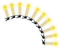 """""""Kerzenzauber"""" LED-Echtwachskerzen, 10er-Set - Produktdetailbild 4"""