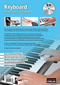 Keyboard: Learn to play - quick and easy, w. Audio-CD - Produktdetailbild 1