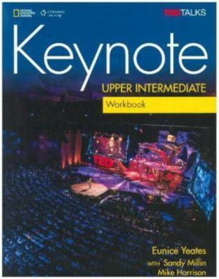 Keynote - B2: Upper-Intermediate - Workbook + Audio-CD