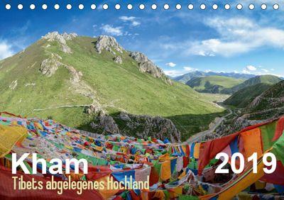 Kham - Tibets abgelegenes Hochland (Tischkalender 2019 DIN A5 quer), Jakob Michelis
