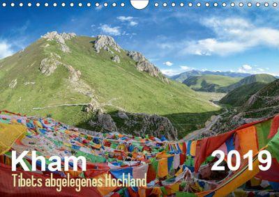 Kham - Tibets abgelegenes Hochland (Wandkalender 2019 DIN A4 quer), Jakob Michelis