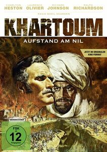 Khartoum - Aufstand am Nil, Charlton Heston, Sir Laurence Olivier, R. Johnson