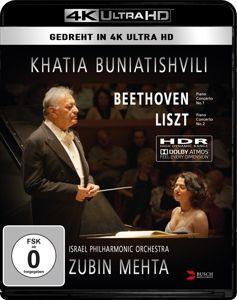 Khatia Buniatishvili & Zubin M, K. Buniatishvili, Mehta, Israel