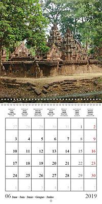 Khmer Temples (Wall Calendar 2019 300 × 300 mm Square) - Produktdetailbild 6
