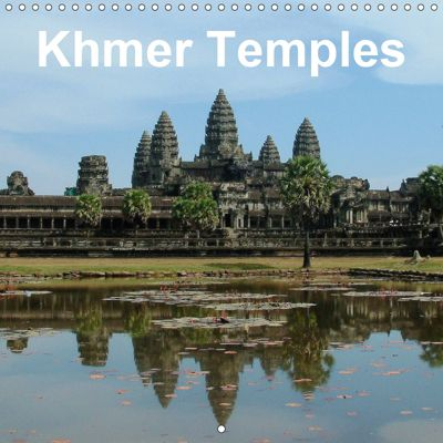 Khmer Temples (Wall Calendar 2019 300 × 300 mm Square), Rudolf Blank