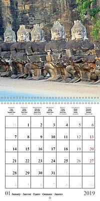 Khmer Temples (Wall Calendar 2019 300 × 300 mm Square) - Produktdetailbild 1