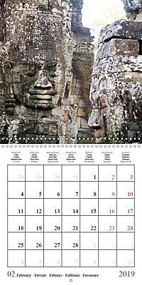 Khmer Temples (Wall Calendar 2019 300 × 300 mm Square) - Produktdetailbild 2