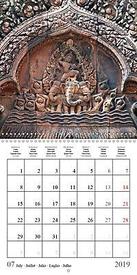 Khmer Temples (Wall Calendar 2019 300 × 300 mm Square) - Produktdetailbild 7