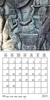 Khmer Temples (Wall Calendar 2019 300 × 300 mm Square) - Produktdetailbild 4