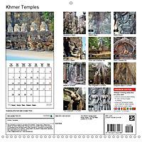 Khmer Temples (Wall Calendar 2019 300 × 300 mm Square) - Produktdetailbild 13