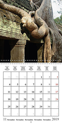 Khmer Temples (Wall Calendar 2019 300 × 300 mm Square) - Produktdetailbild 11
