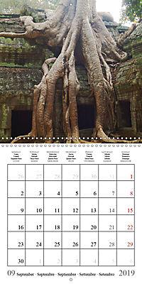 Khmer Temples (Wall Calendar 2019 300 × 300 mm Square) - Produktdetailbild 9