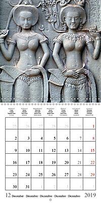 Khmer Temples (Wall Calendar 2019 300 × 300 mm Square) - Produktdetailbild 12