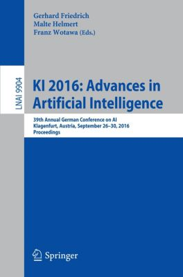 KI 2016: Advances in Artificial Intelligence