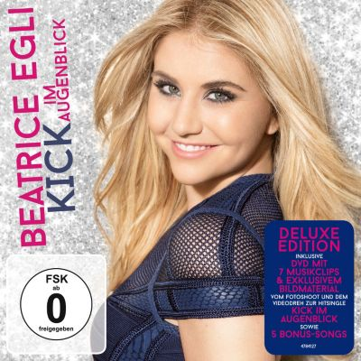 Kick im Augenblick (Deluxe Edition, CD+DVD), Beatrice Egli