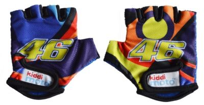 kiddimoto® Fahrrad Handschuhe Valentino Rossi VR46 Gr. S (2-5 Jahre)