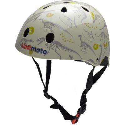 kiddimoto® Fahrrad Helm Fossil Dino Gr. S (2-5 Jahre)