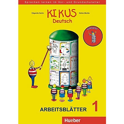 kikus deutsch arbeitsbl tter 1 kindergarten buch versandkostenfrei. Black Bedroom Furniture Sets. Home Design Ideas
