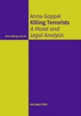 Killing Terrorists, Anna Goppel