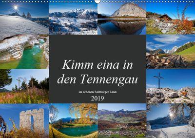 Kimm eina in den Tennengau (Wandkalender 2019 DIN A2 quer), Christa Kramer