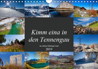Kimm eina in den Tennengau (Wandkalender 2019 DIN A4 quer), Christa Kramer