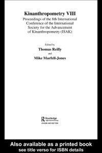Kinanthropometry VIII