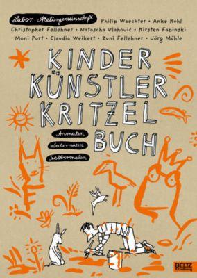 Kinder Künstler Kritzelbuch, Labor Ateliergemeinschaft
