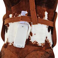 Kinder Schaukelpferd (Farbe: braun, Größe: 71 x 28 x 60 cm (LxBxH)) - Produktdetailbild 7
