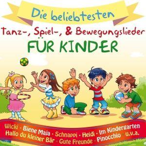 Kinder-Tanz-,Spiel-& Bewegungslieder, Diverse Interpreten
