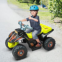 Kinderauto Quad (Farbe: gelb-schwarz) - Produktdetailbild 3