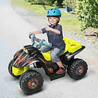 Kinderauto Quad (Farbe: gelb-schwarz) - Produktdetailbild 4