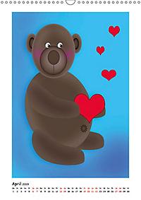 Kinderbilder mit lustigen Tiermotiven (Wandkalender 2019 DIN A3 hoch) - Produktdetailbild 4