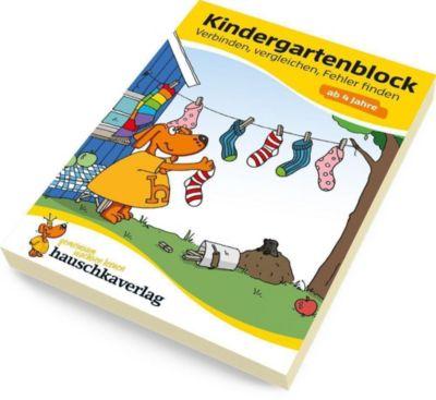 Kindergartenblock - Verbinden, vergleichen, Fehler finden ab 4 Jahre - Linda Bayerl pdf epub